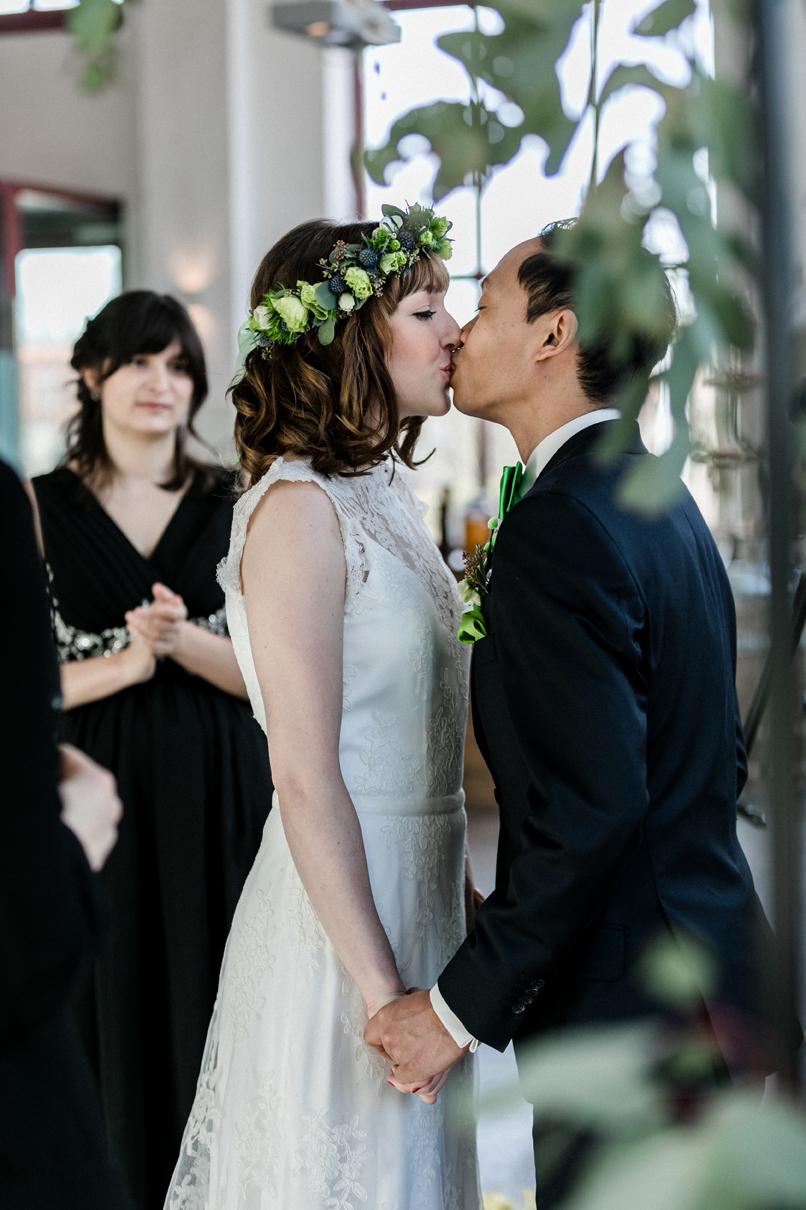 Hochzeit im Wasserwerk ©Deinz Fotografie